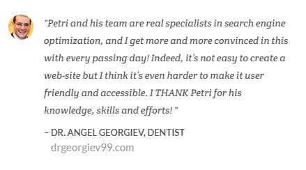 dentist dr georgiev